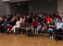 Zuhörer im Pauline-Sels-Saal
