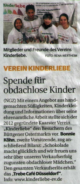 NGZ-Artikel Ostermarkt Büttgen