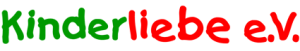 Kinderliebe e.V. Logo Schriftzug